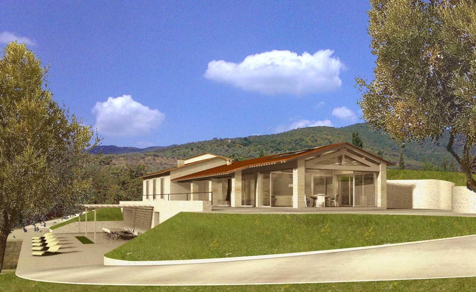Guardea ecosostenibilit paolo ceccarelli architetto for Piani casa di campagna con avvolgente portico